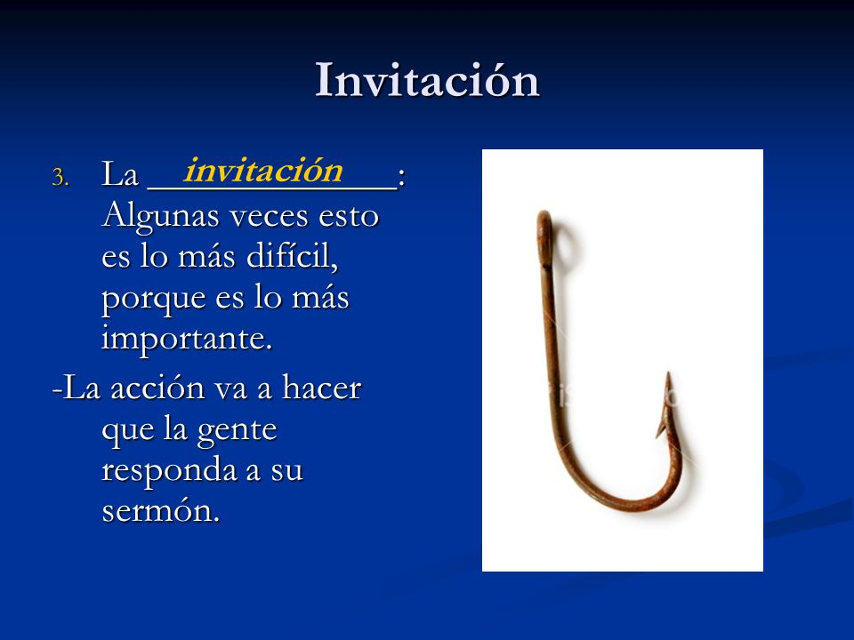 Invitación invitación