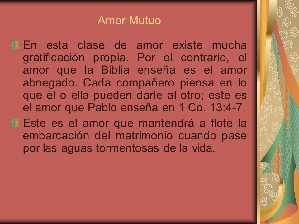 Amor Mutuo