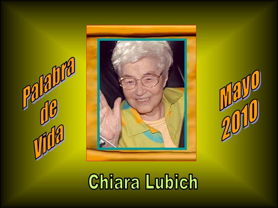 Palabra de Vida Mayo 2010 Chiara Lubich