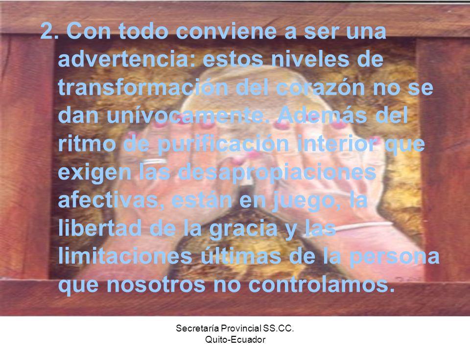 Secretaría Provincial SS.CC. Quito-Ecuador