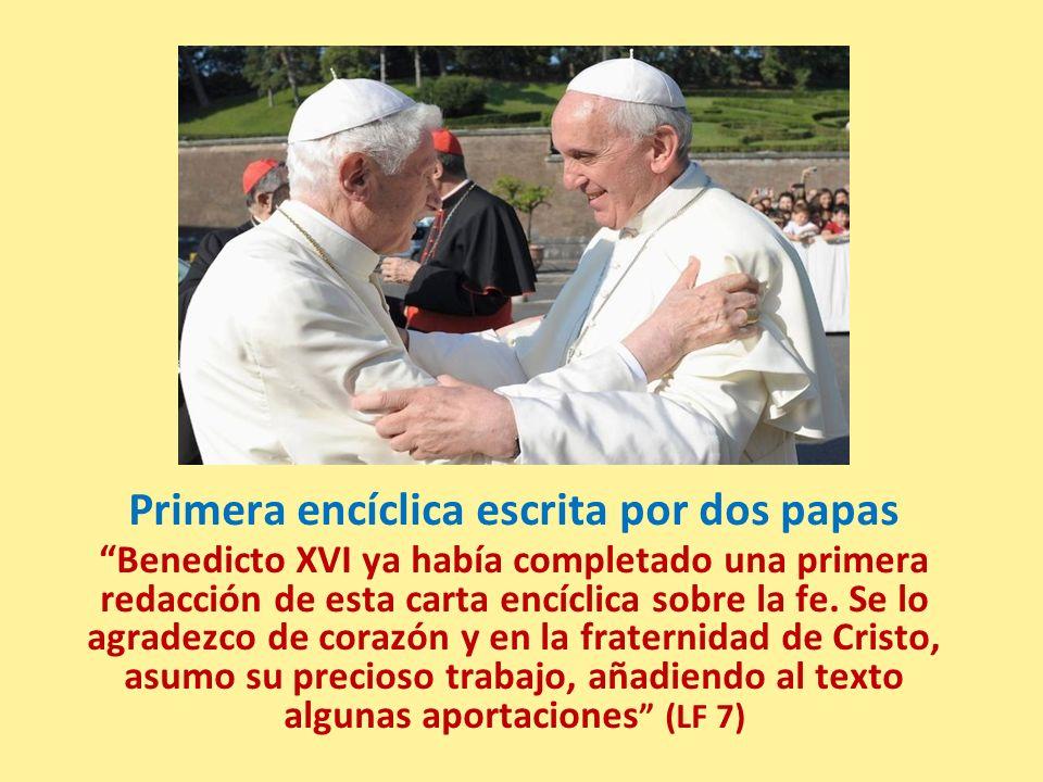 Primera encíclica escrita por dos papas