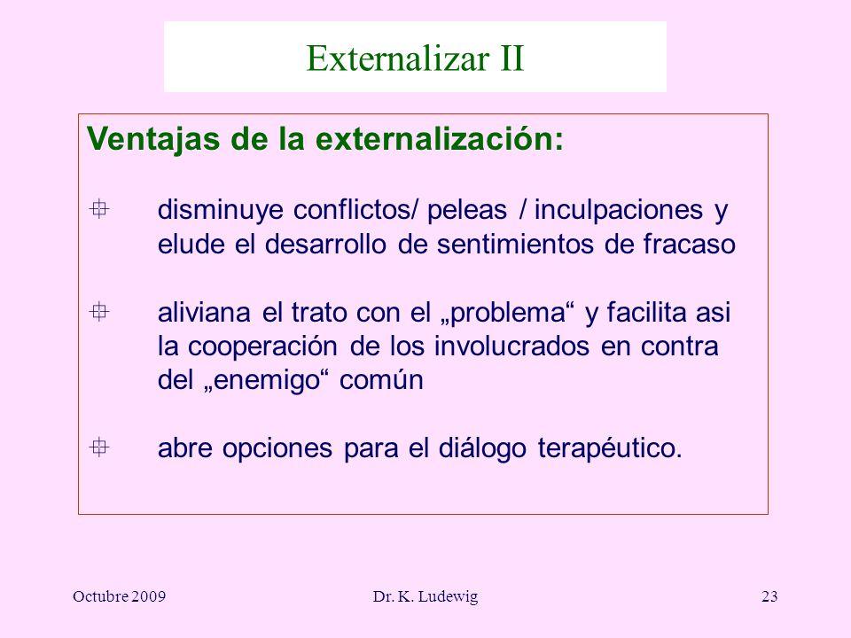 Externalizar II Ventajas de la externalización: