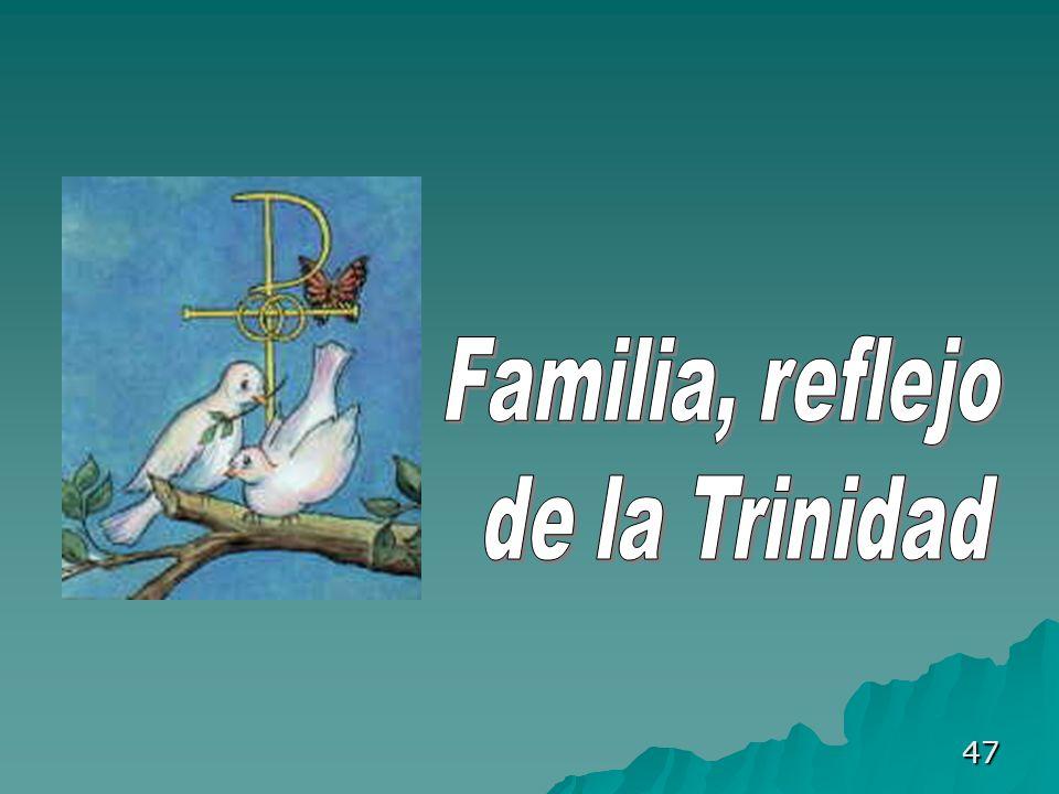 Familia, reflejo de la Trinidad