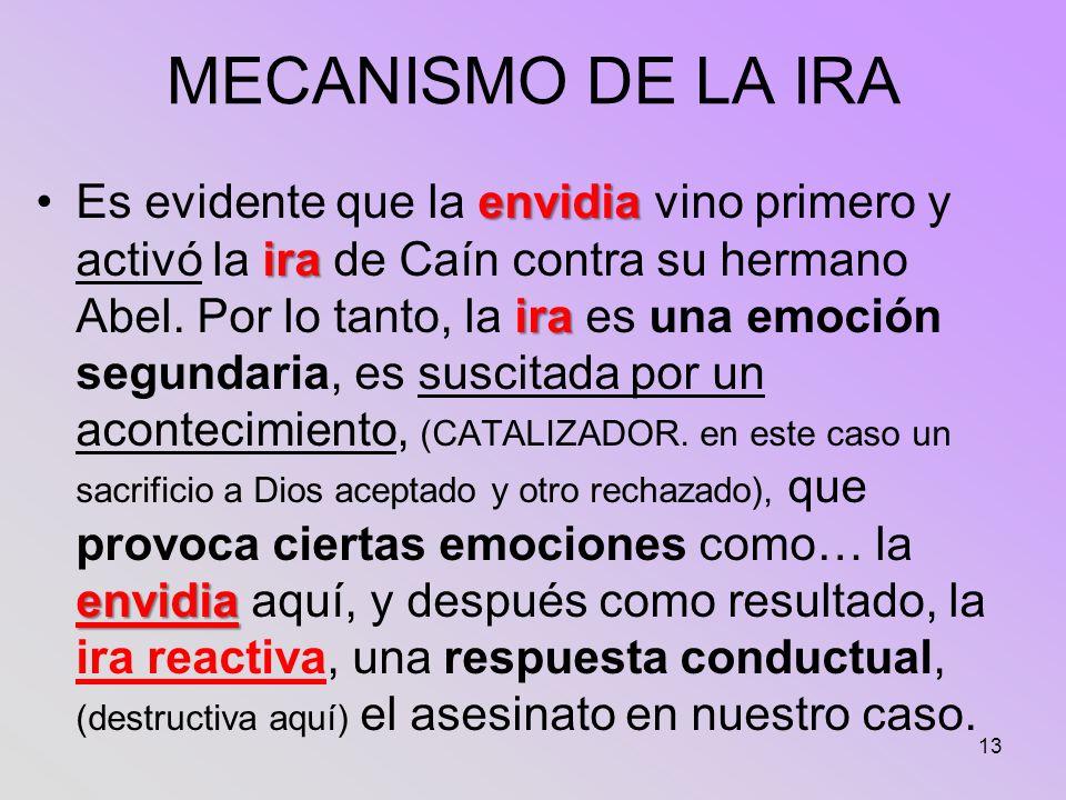 MECANISMO DE LA IRA