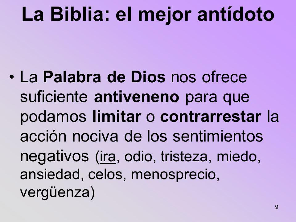 La Biblia: el mejor antídoto