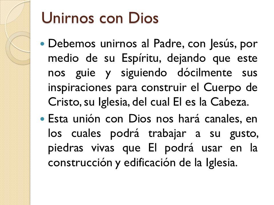 Unirnos con Dios