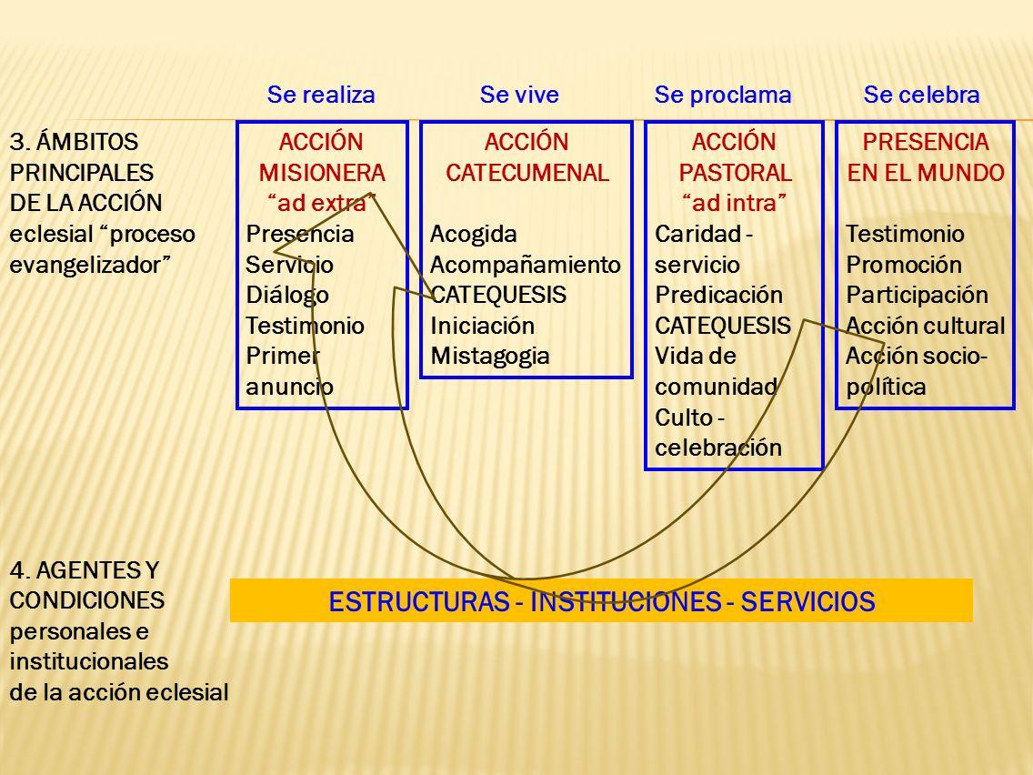 ESTRUCTURAS - INSTITUCIONES - SERVICIOS