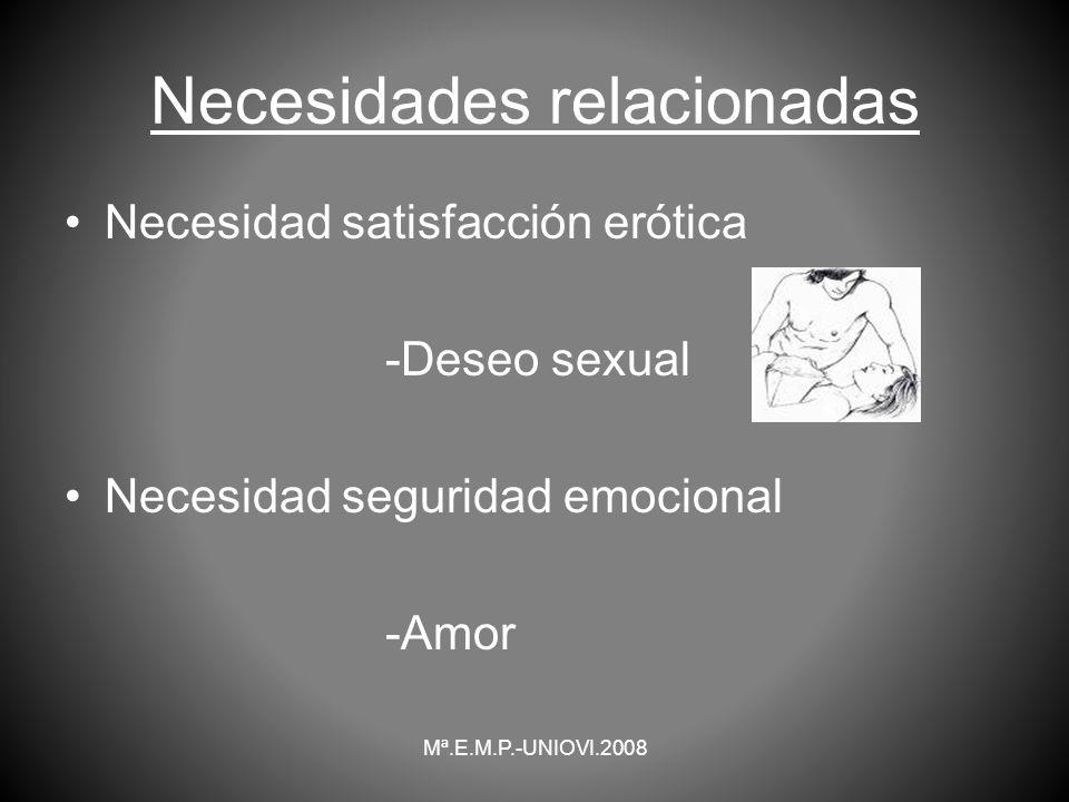 Necesidades relacionadas