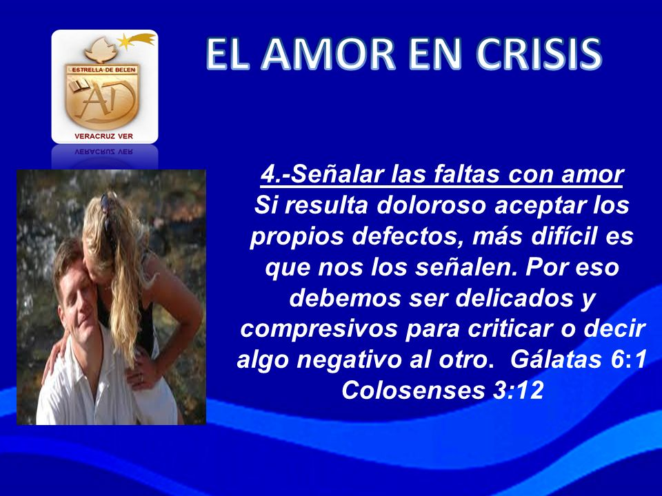 EL AMOR EN CRISIS