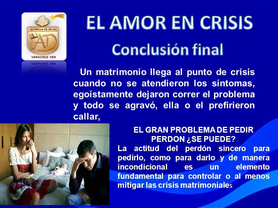 EL GRAN PROBLEMA DE PEDIR PERDON ¿SE PUEDE