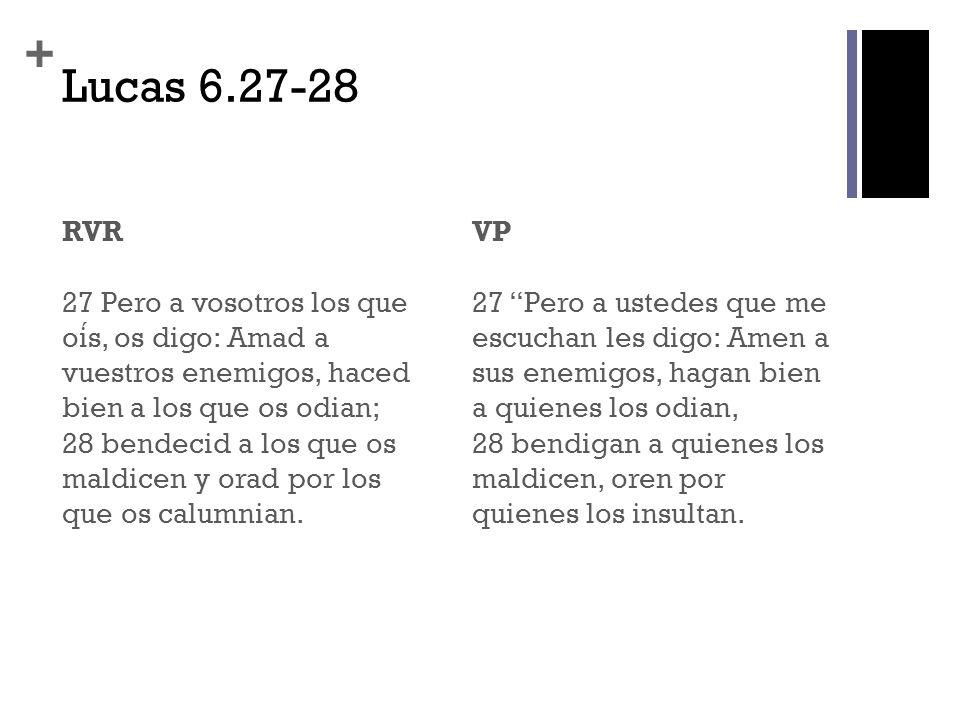 Lucas 6.27-28