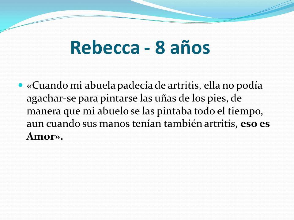 Rebecca - 8 años