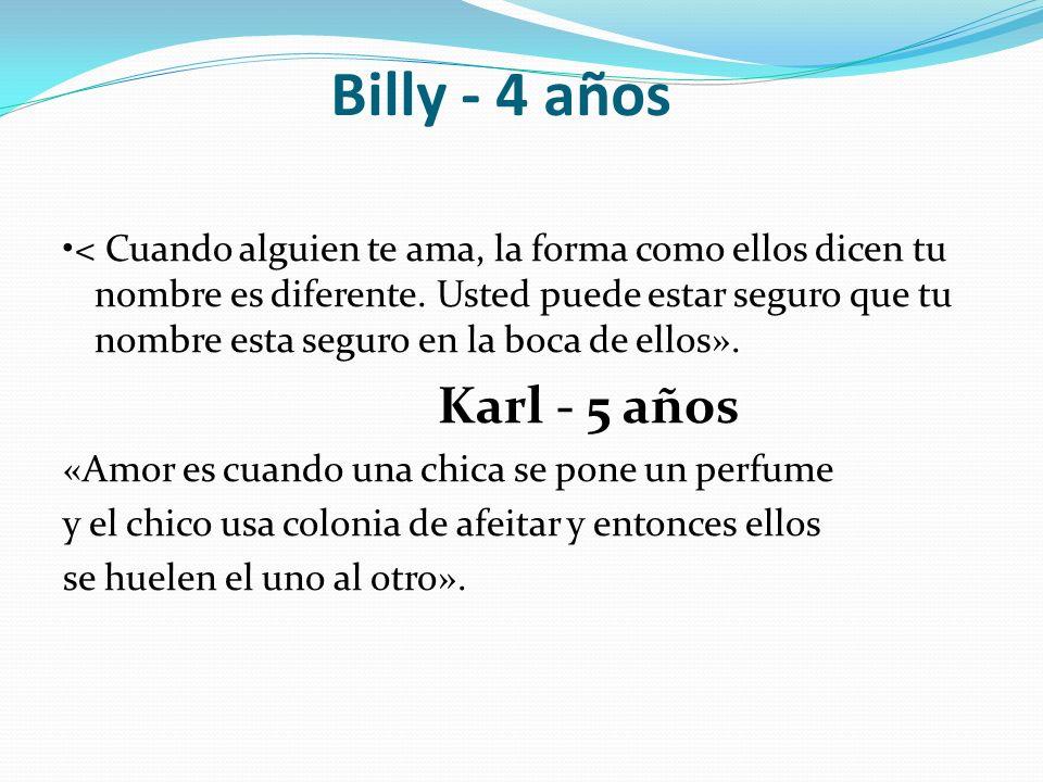 Billy - 4 años