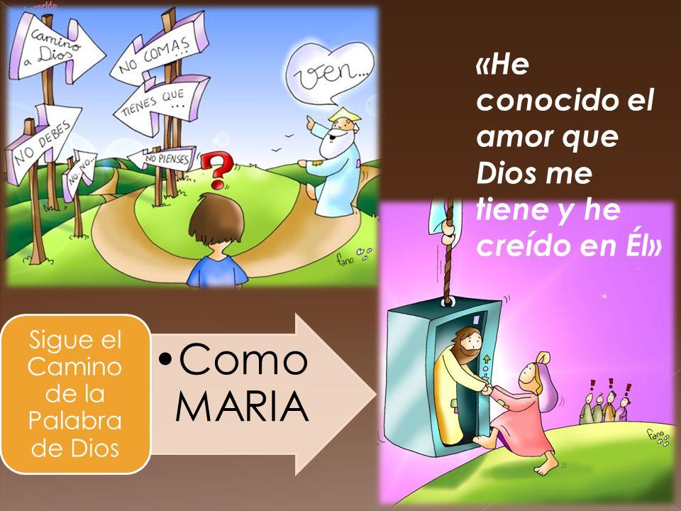 Sigue el Camino de la Palabra de Dios