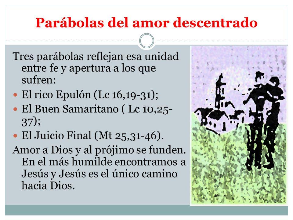 Parábolas del amor descentrado