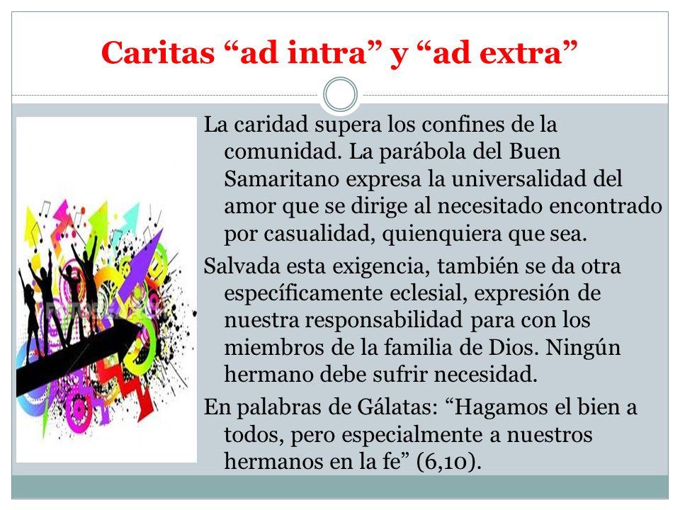 Caritas ad intra y ad extra