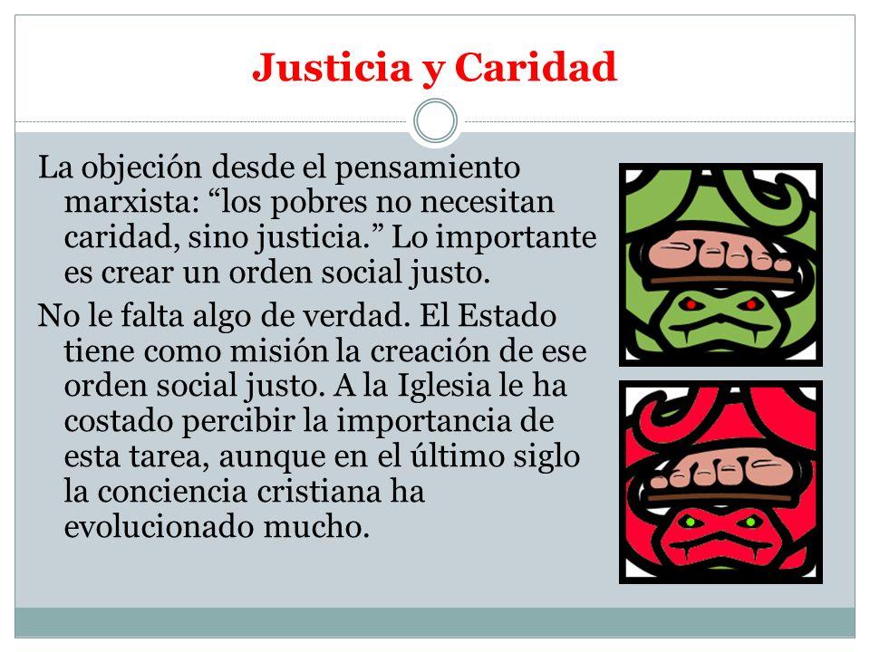 Justicia y Caridad