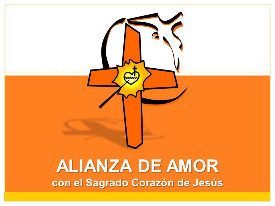 con el Sagrado Corazón de Jesús
