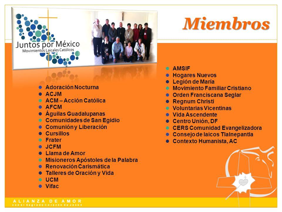 Miembros AMSIF Hogares Nuevos Legión de María
