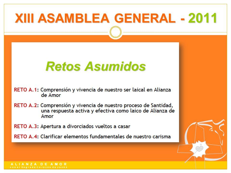 XIII ASAMBLEA GENERAL - 2011