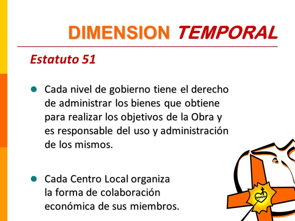 DIMENSION TEMPORAL Estatuto 51
