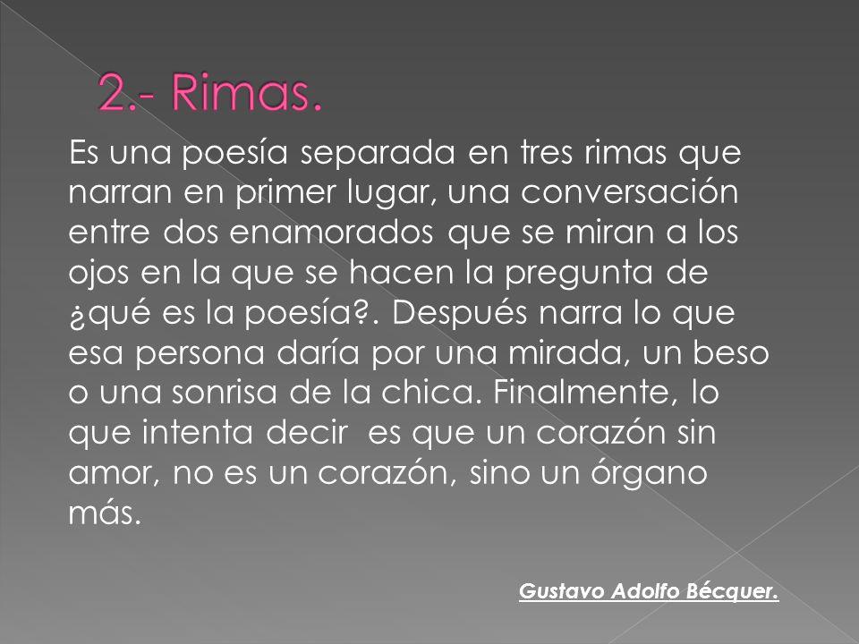 2.- Rimas.