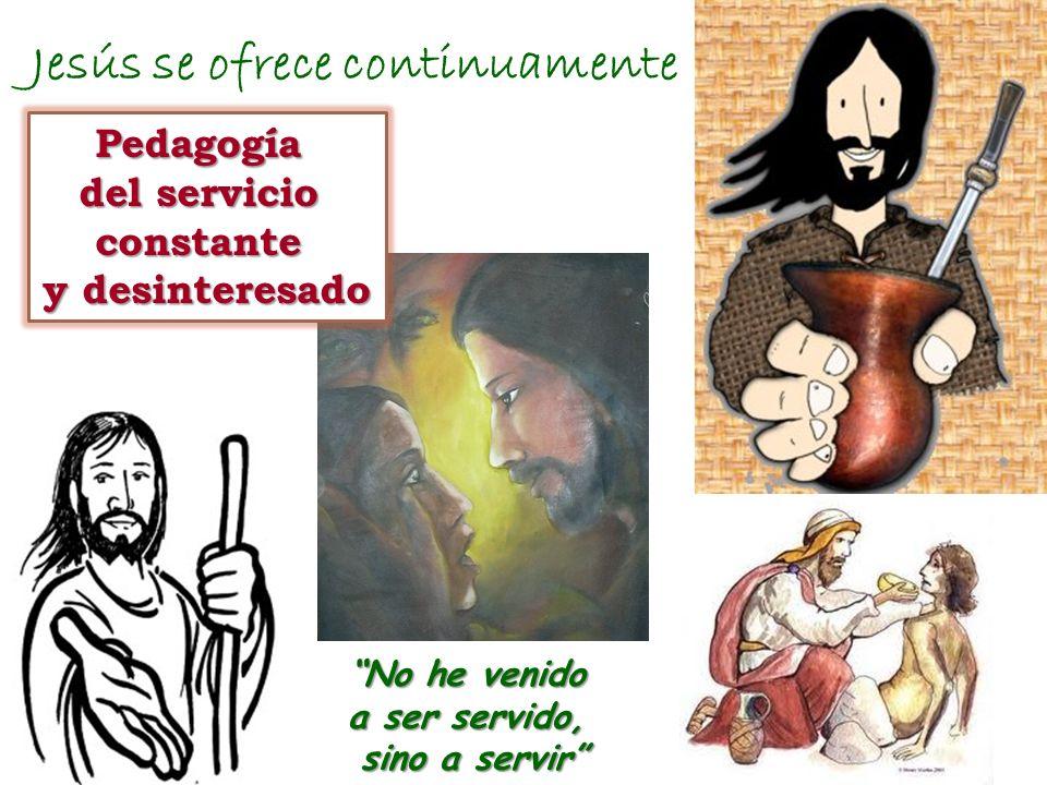 Jesús se ofrece continuamente