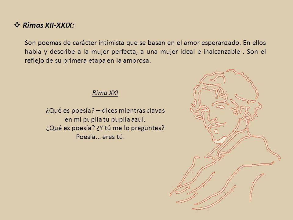 Rimas XII-XXIX:
