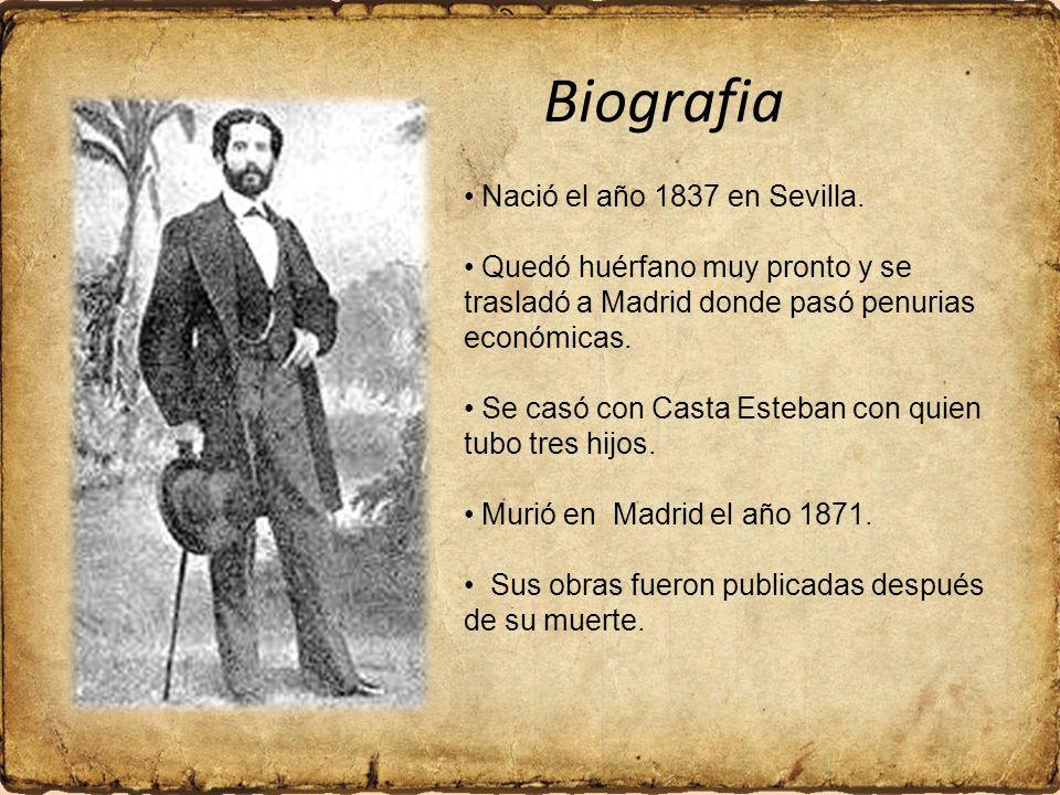 Biografia Nació el año 1837 en Sevilla.