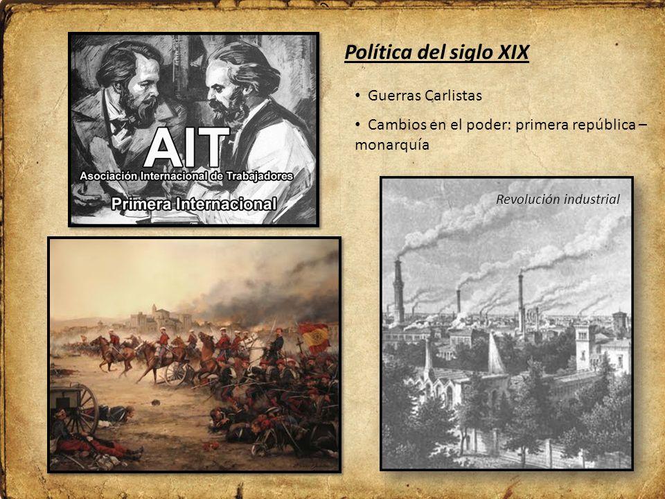 Política del siglo XIX Guerras Carlistas