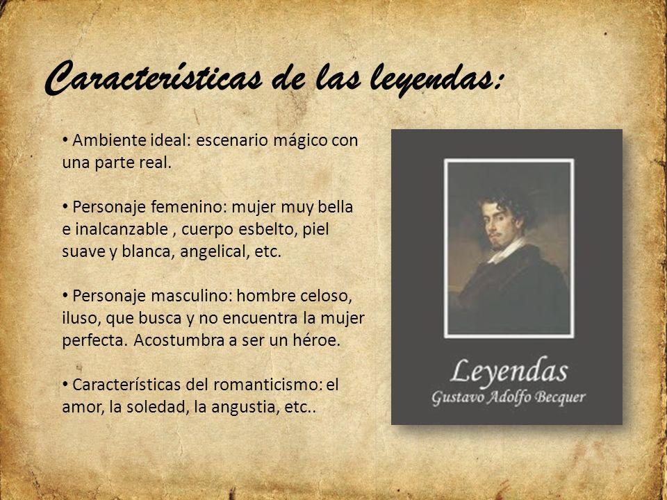 Características de las leyendas: