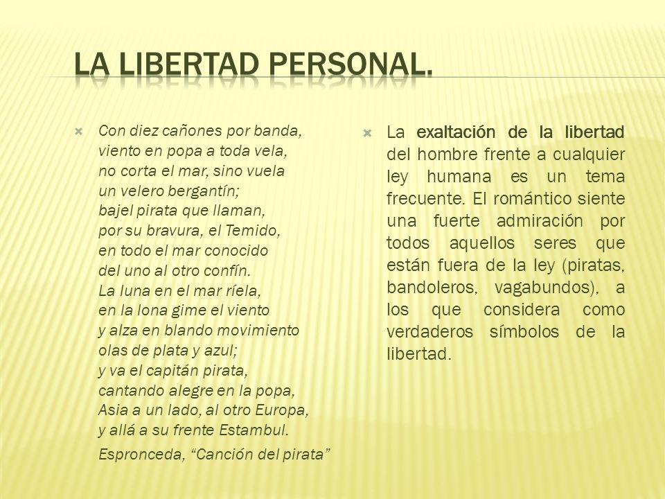 La libertad personal.