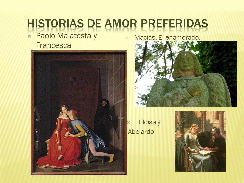 Historias de amor preferidas