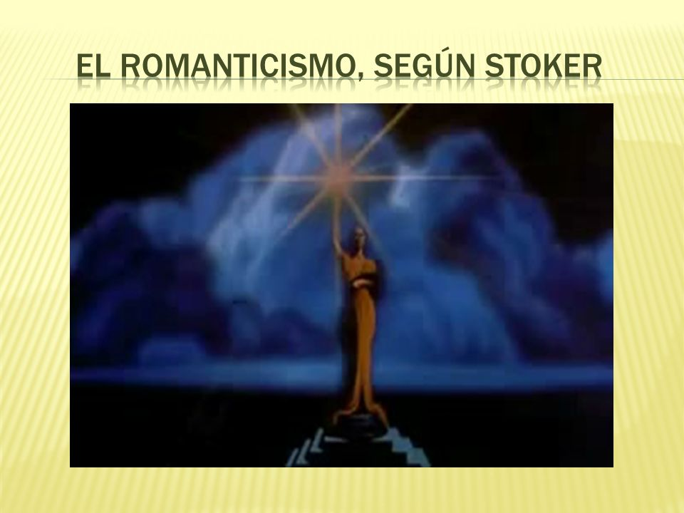 El Romanticismo, según Stoker
