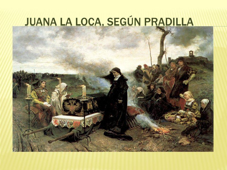 Juana la Loca, según Pradilla