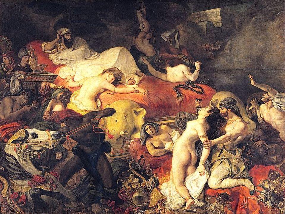 La muerte de sardanápalo, Delacroix