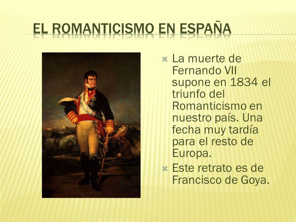 El Romanticismo en España