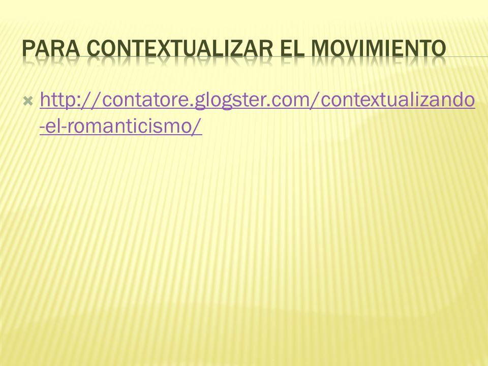 Para contextualizar el movimiento