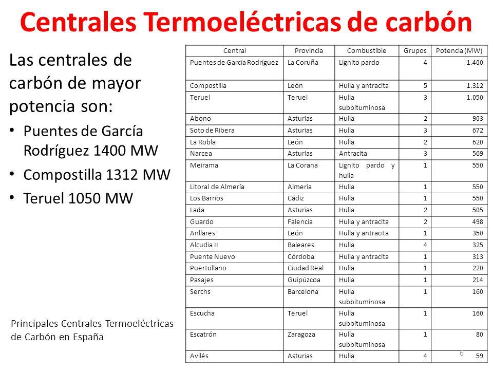 Centrales termoel ctricas o t rmicas cogeneraci n ppt descargar - Tiempo en puentes de garcia rodriguez ...