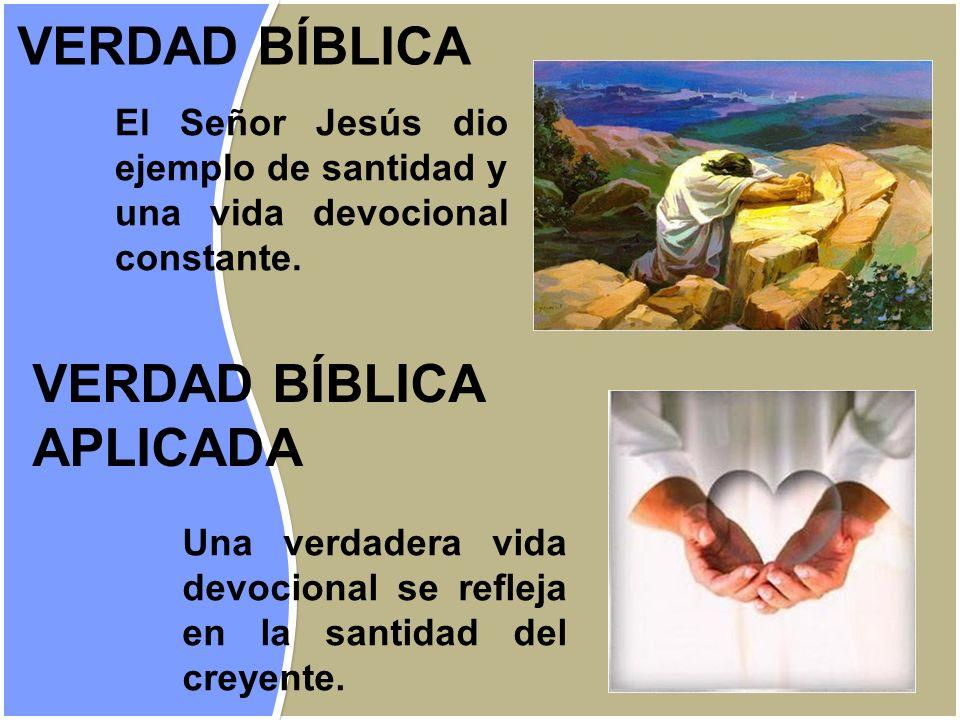 VERDAD BÍBLICA VERDAD BÍBLICA APLICADA