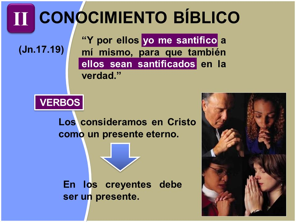 II CONOCIMIENTO BÍBLICO