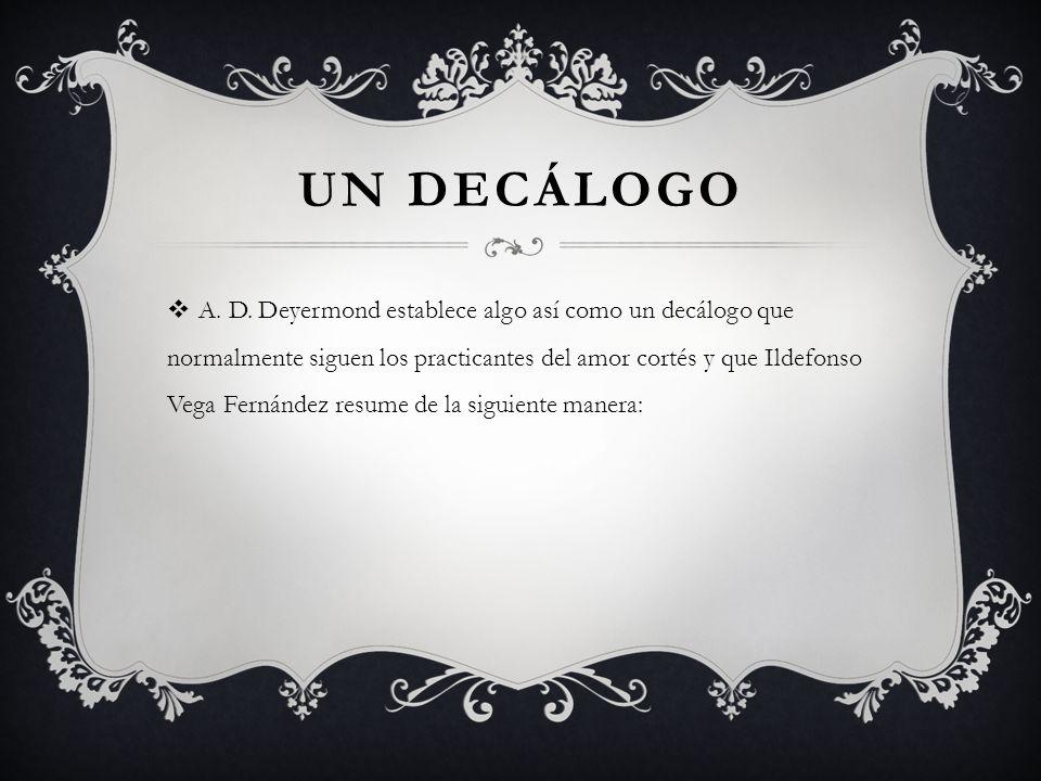 Un decálogo