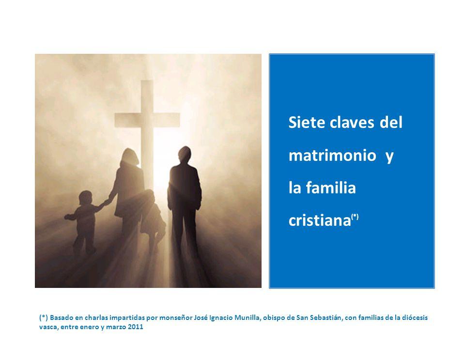 Siete claves del matrimonio y la familia cristiana(*)