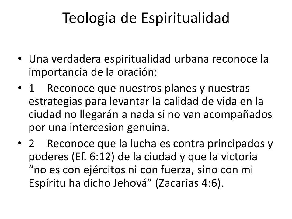 Teologia de Espiritualidad