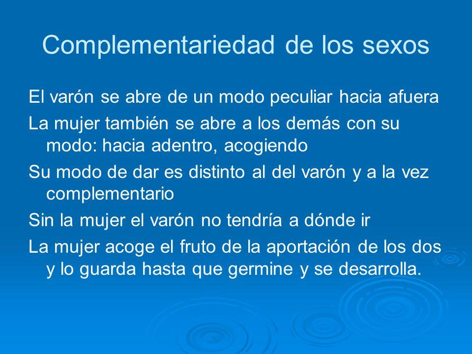 Complementariedad de los sexos