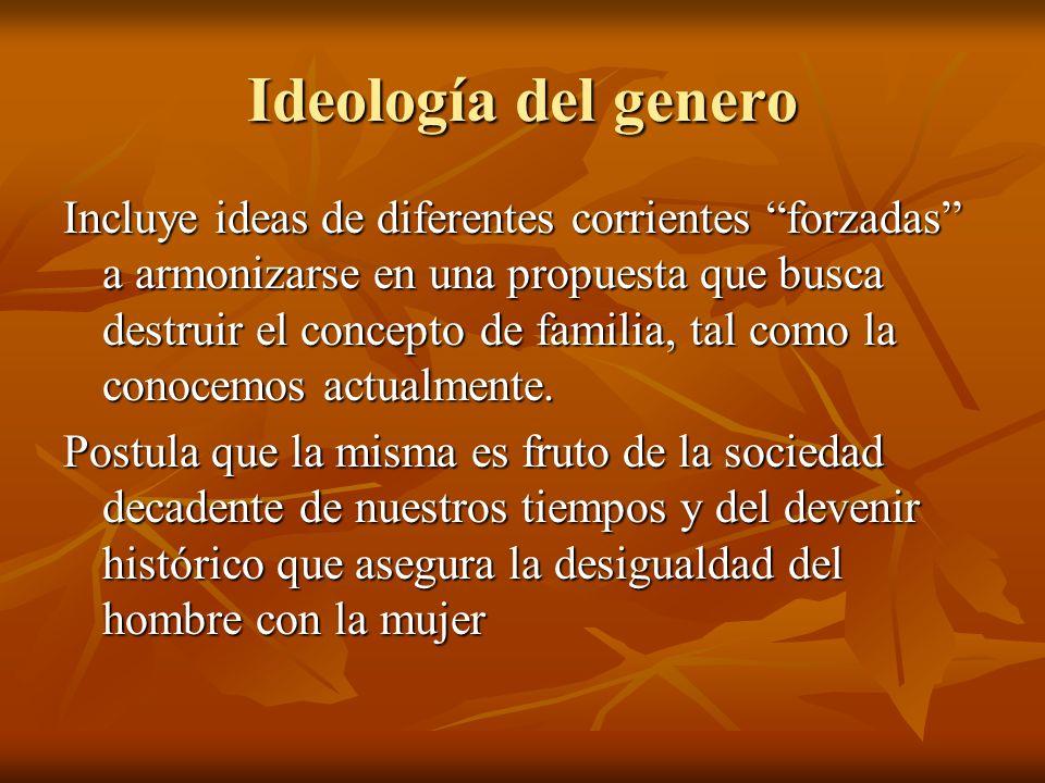 Ideología del genero