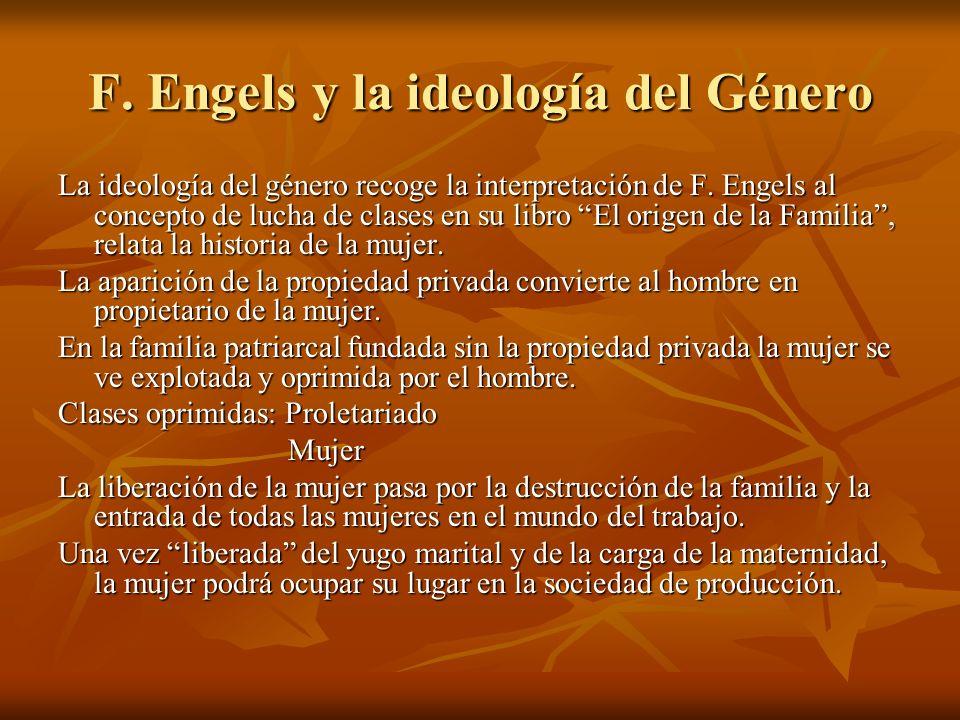 F. Engels y la ideología del Género