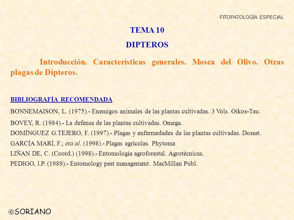 FITOPATOLOGÍA ESPECIAL