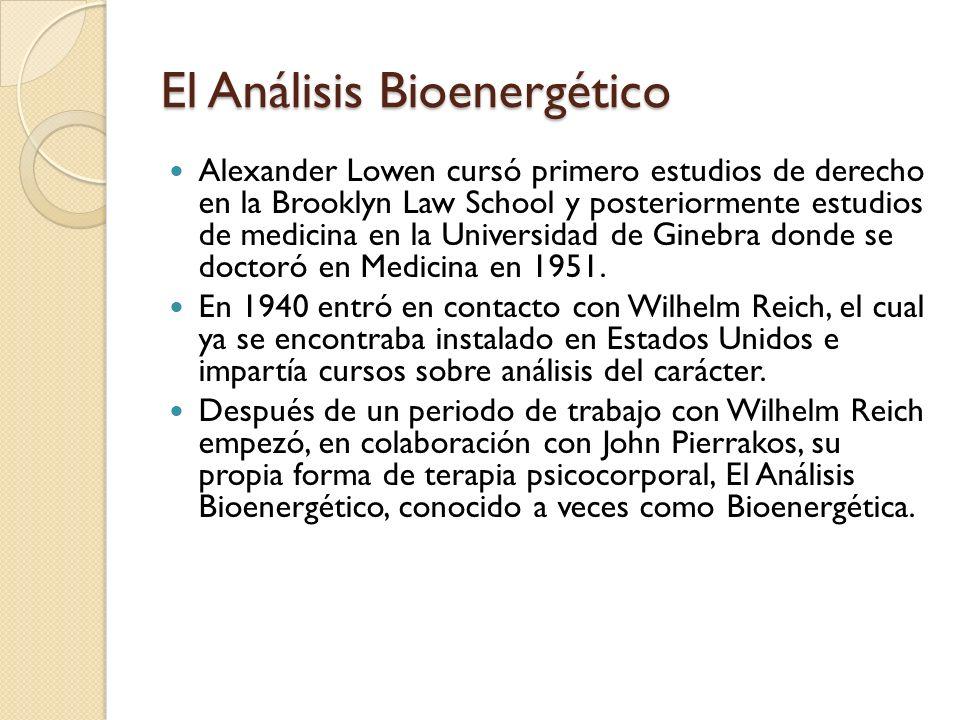 El Análisis Bioenergético