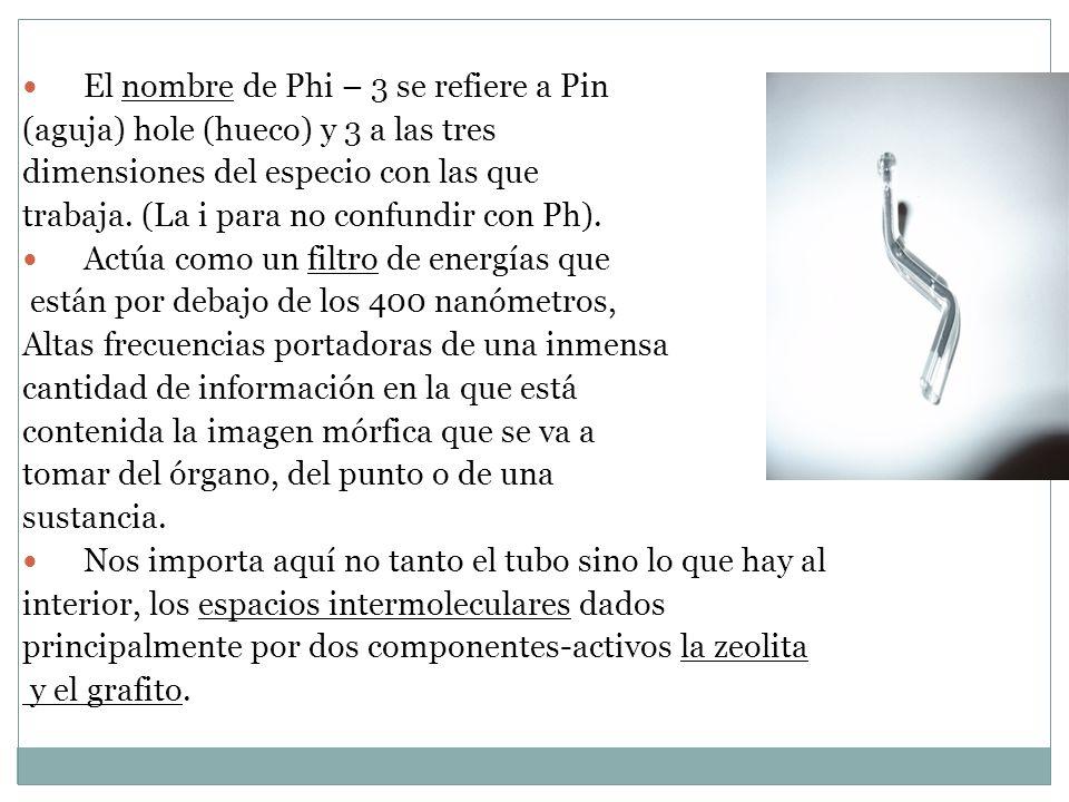 El nombre de Phi – 3 se refiere a Pin